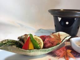 グレードアッププラン和牛陶板焼き
